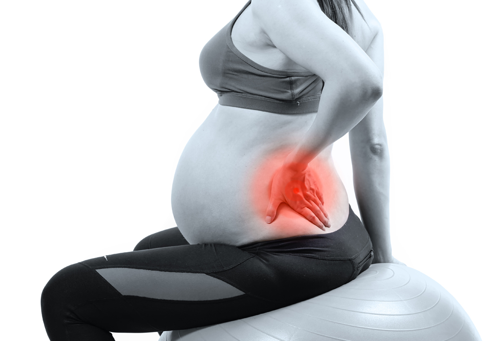 pregnancy back pain highlight